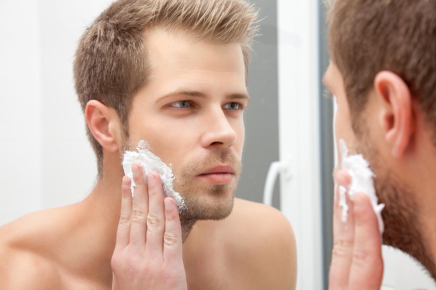 Rasiergel, Rasiercreme und Rasierseife